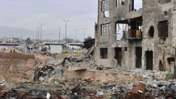 Syria. Niedaleko Damaszku - Sputnik Polska