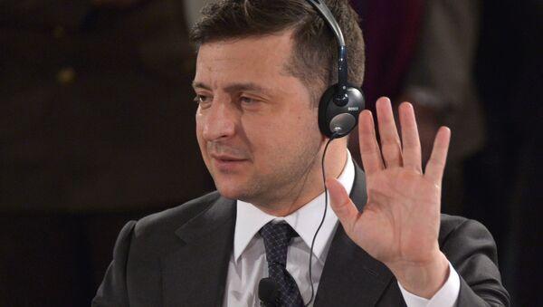Wołodymyr Zełenski  - Sputnik Polska