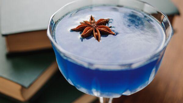 Blue cocktail  - Sputnik Polska