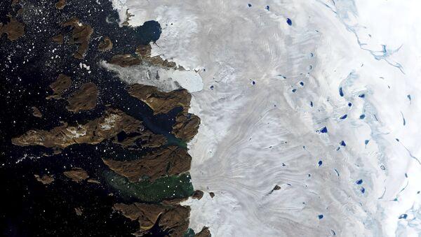 Woda na Grenlandii - Sputnik Polska