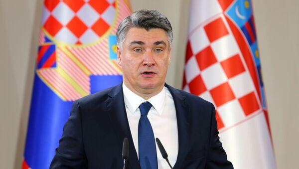 Zoran Milanović  - Sputnik Polska