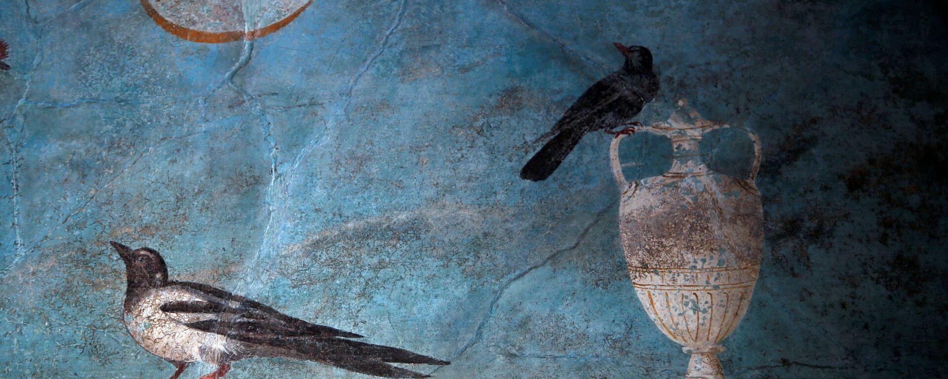 Fresk w Casa del Frutteto w Pompejach - Sputnik Polska, 1920, 19.02.2020