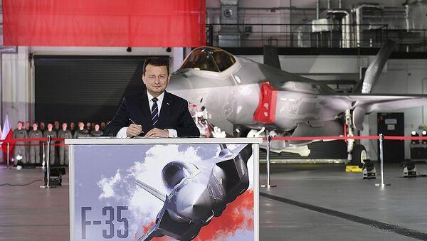 Mariusz Błaszczak, minister obrony narodowej Polski - Sputnik Polska