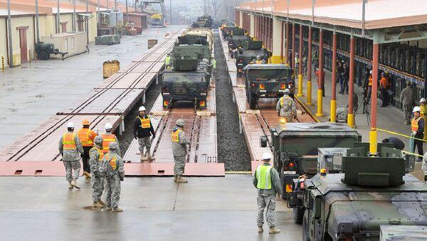 Amerykńska baza wojskowa Camp Carroll w Korei Południowej - Sputnik Polska