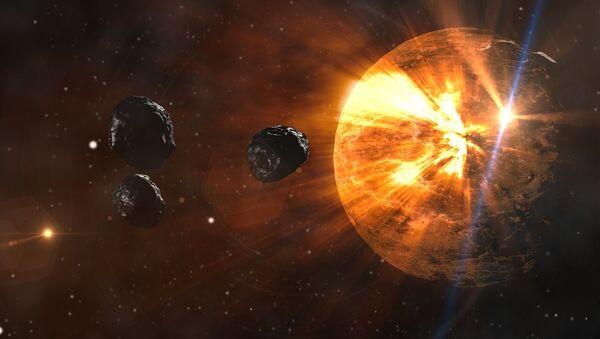 Asteroidy lecą w kierunku Ziemi - Sputnik Polska