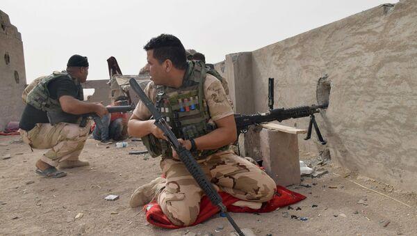 Siły bezpieczeństwa Iraku, Ramadi, prowincja Anbar - Sputnik Polska
