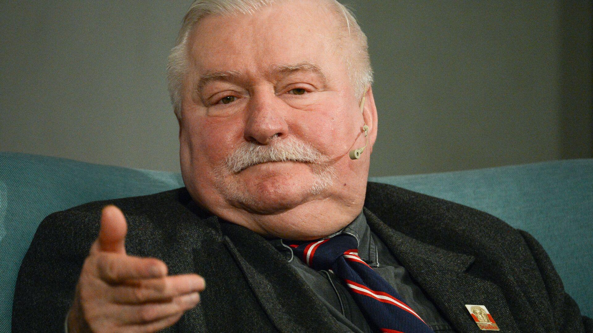 Były prezydent Polski Lech Wałęsa - Sputnik Polska, 1920, 17.08.2021
