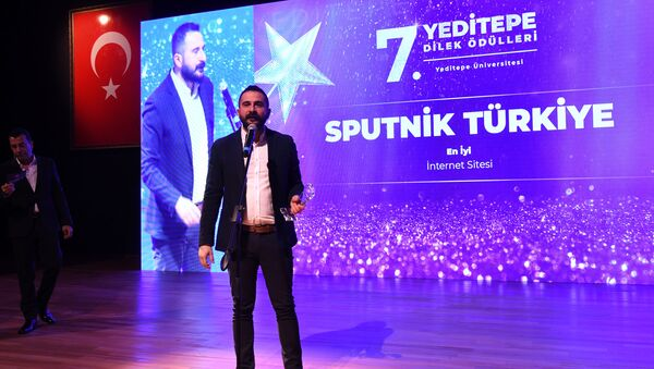 Redaktor naczelny Sputnika Turcja Mahir Boztepe - Sputnik Polska