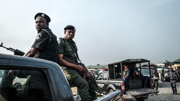 Policja w Nigerii - Sputnik Polska