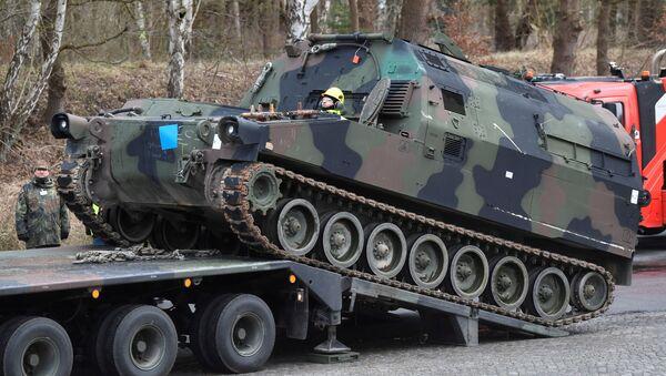 Manewry NATO Defender Europe 2020 - Sputnik Polska