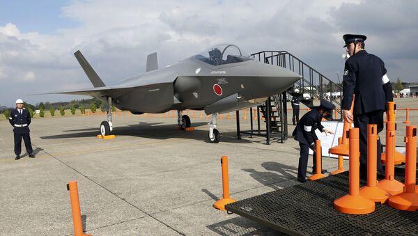 F-35 w Japonii - Sputnik Polska