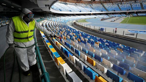 Stadion San Paolo w Neapolu, Włochy - Sputnik Polska