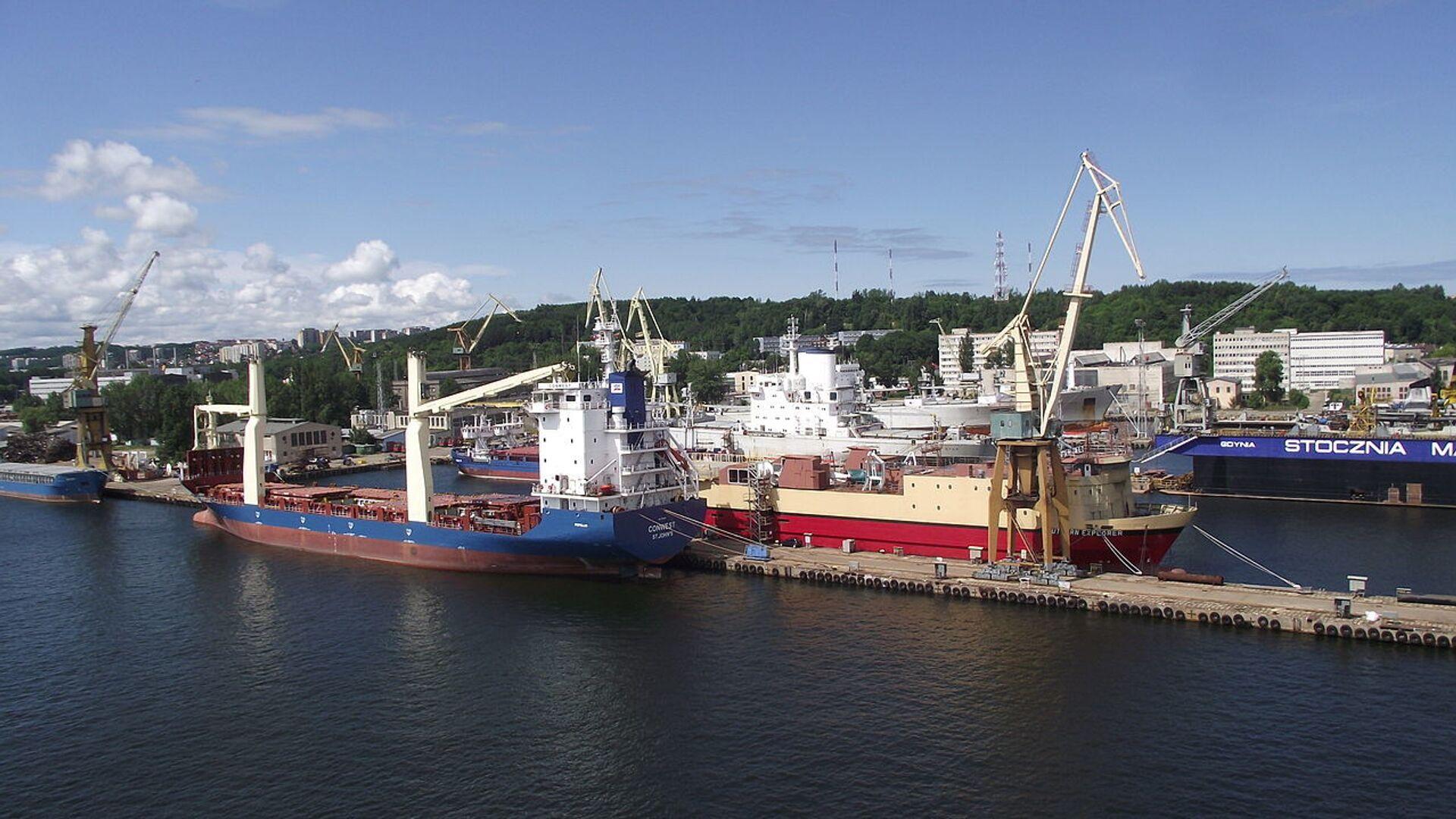 Port w Gdyni - Sputnik Polska, 1920, 09.09.2021