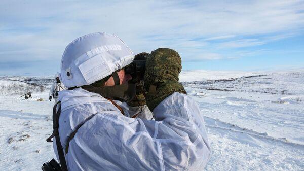 Rosyjscy żołnierze w Arktyce - Sputnik Polska