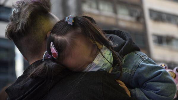 Fala zarażeń koronawirusem w Hongkongu - Sputnik Polska