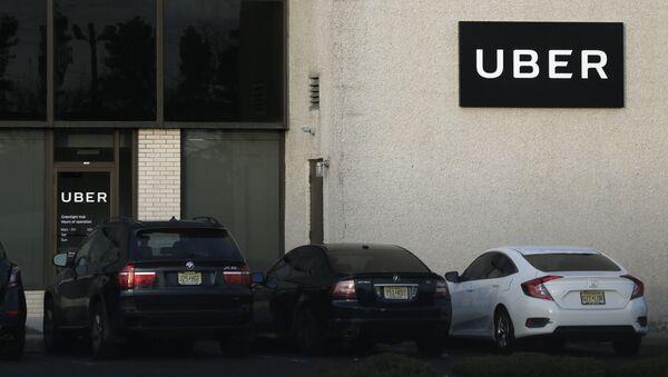 Biuro firmy Uber w USA - Sputnik Polska