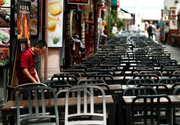 Restauracja w Singapurze - Sputnik Polska