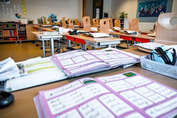 Pusta klasa w Holandii - Sputnik Polska