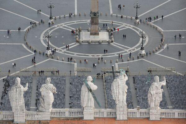 Plac Świętego Piotra w Watykanie - Sputnik Polska