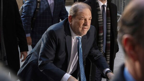 Harvey Weinstein przed sądem - Sputnik Polska