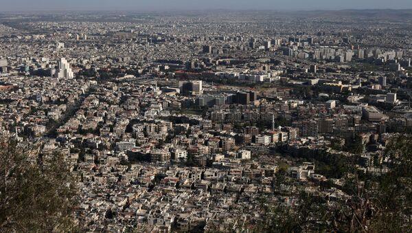 Widok na Damaszek, Syria - Sputnik Polska