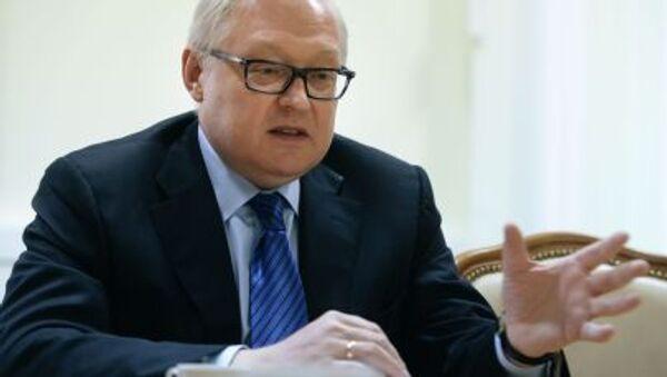 Wiceminister spraw zagranicznych Rosji Siergiej Riabkow - Sputnik Polska