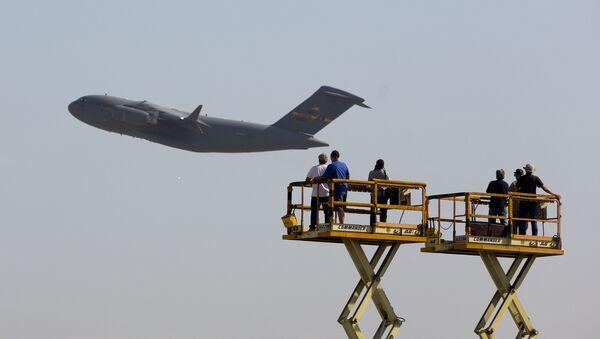 Amerykański samolot wojskowo-transportowy C-17 Globalmaster - Sputnik Polska