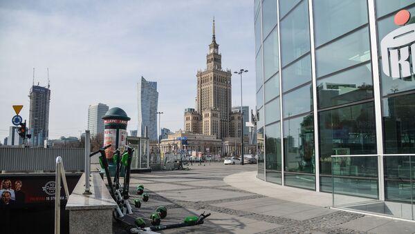 Sytuacja w Warszawie w związku z koronawirusem - Sputnik Polska