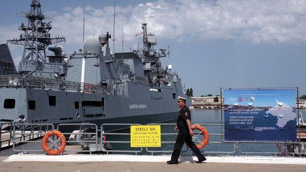 Fregata Admirał Makarow - Sputnik Polska