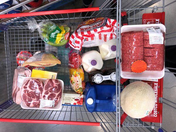 Wózek z zakupami w Kanadzie - Sputnik Polska