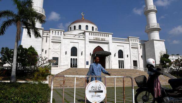 Meczet w Kambodży - Sputnik Polska