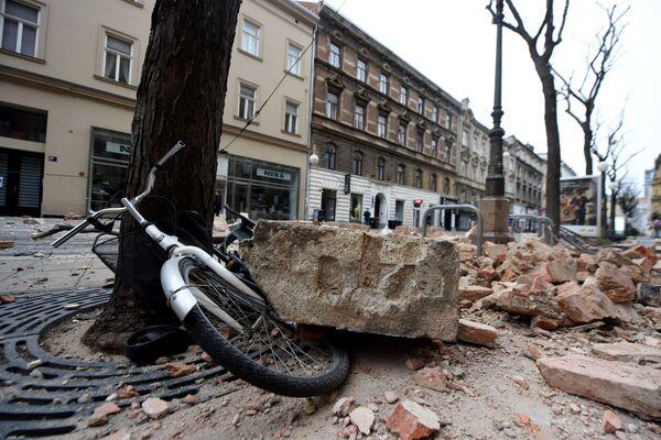 Trzęsienie ziemi w Zagrzebiu - Sputnik Polska