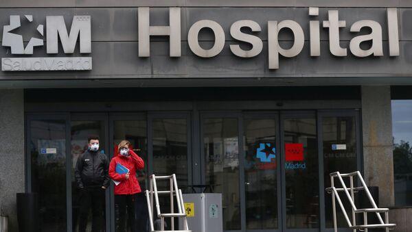Szpital w Hiszpanii - Sputnik Polska