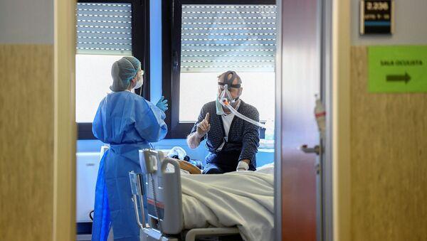 Epidemia koronawirusa we Włoszech. - Sputnik Polska