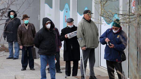 Epidemia koronawirusa w Bułgarii.  - Sputnik Polska