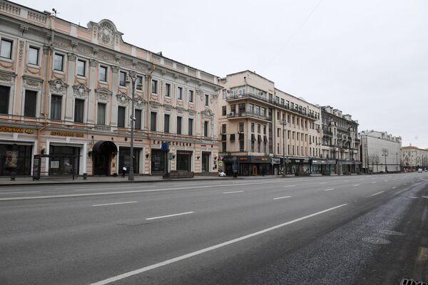Twerskaja ulica w Moskwie - Sputnik Polska