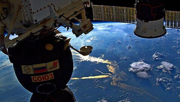 Widok na rzekę Amazonkę z pokładu MSK - Sputnik Polska