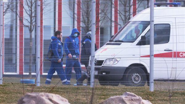 Lekarze pogotowia w szpitalu w Kommunarce - Sputnik Polska