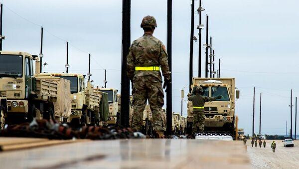 Przygotowania do manewrów NATO Defender Europe 2020 - Sputnik Polska