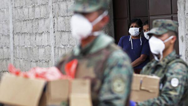 Epidemia koronawirusa w Ekwadorze. - Sputnik Polska