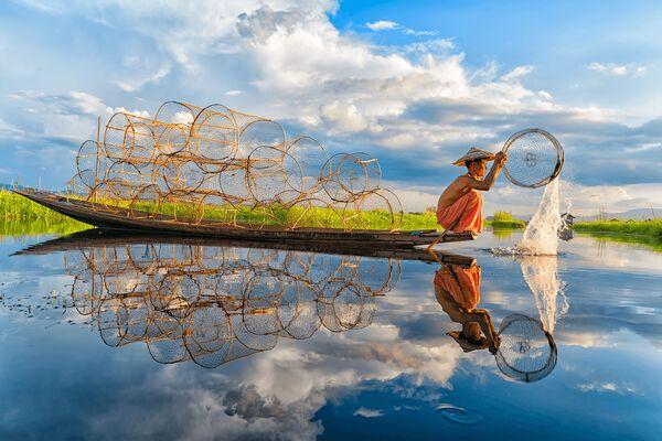 """""""Fishing"""", Wietnam - Sputnik Polska"""