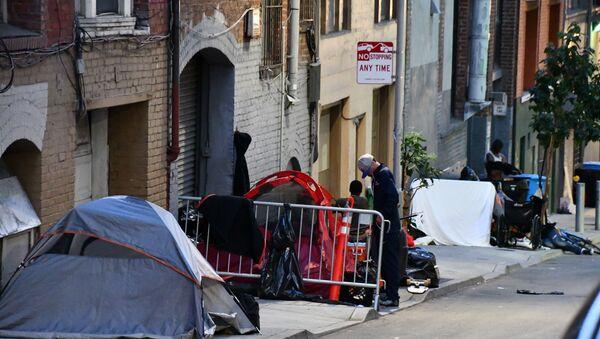 Bezdomni w San Francisco - Sputnik Polska