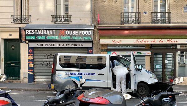 Epidemia koronawirusa w Paryżu - Sputnik Polska