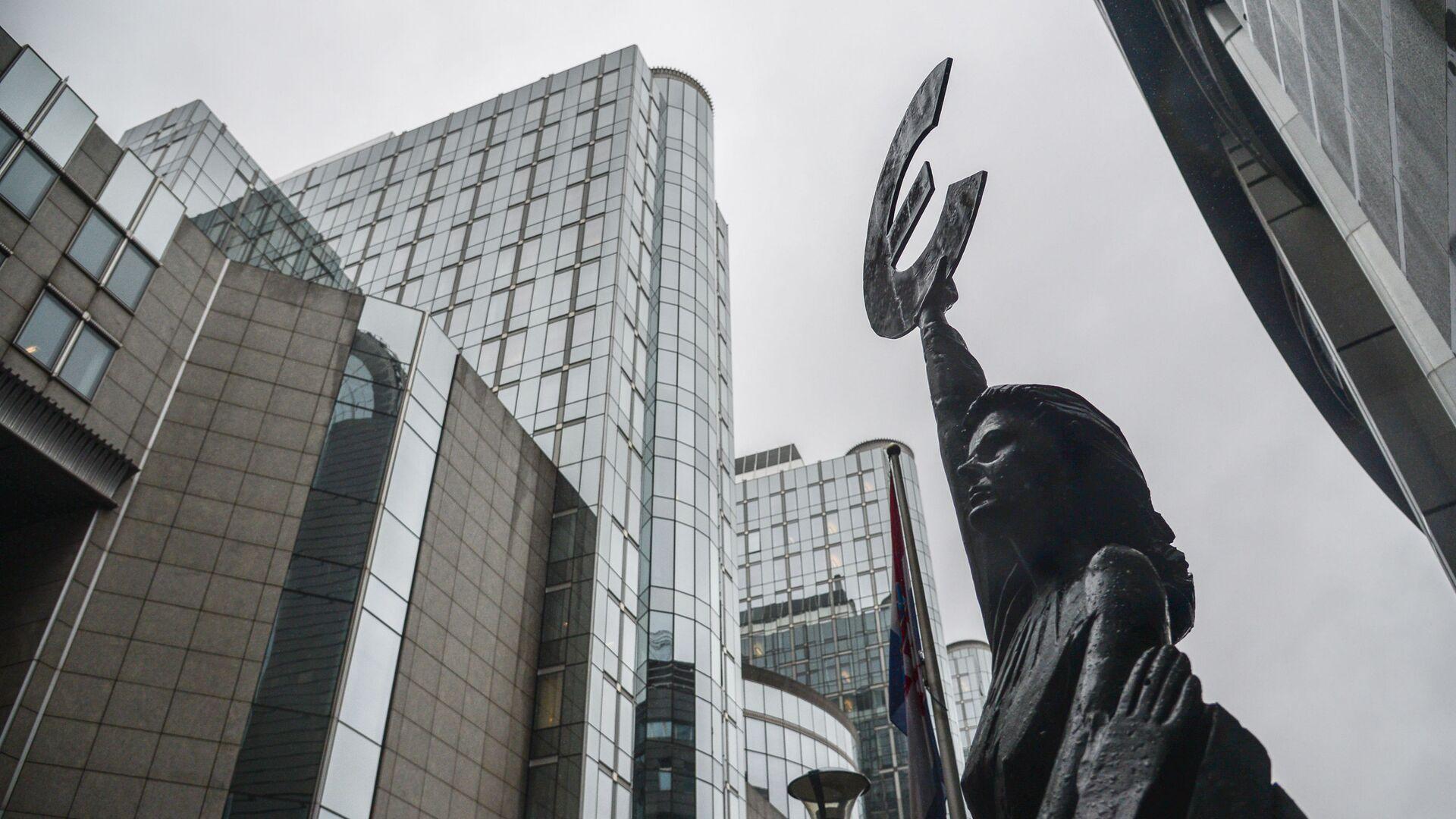 Budynek Parlamentu Europejskiego w Brukseli - Sputnik Polska, 1920, 06.08.2021