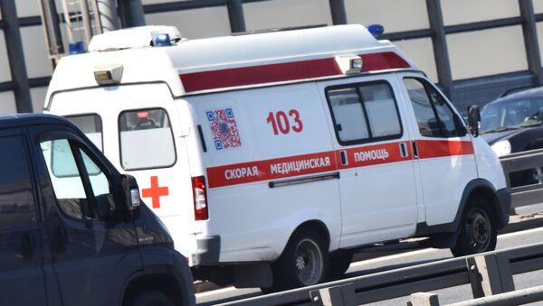 Karetka pogotowia w Moskwie - Sputnik Polska