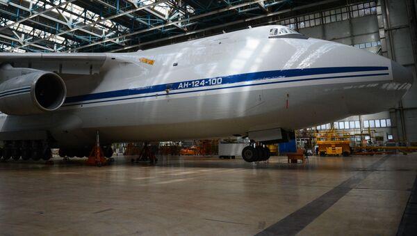 Samolot An-124 Rusłan  - Sputnik Polska