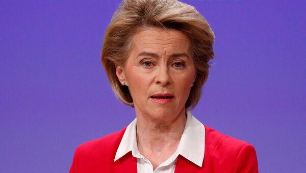 Szefowa Komisji Europejskiej Ursula von der Leyen - Sputnik Polska