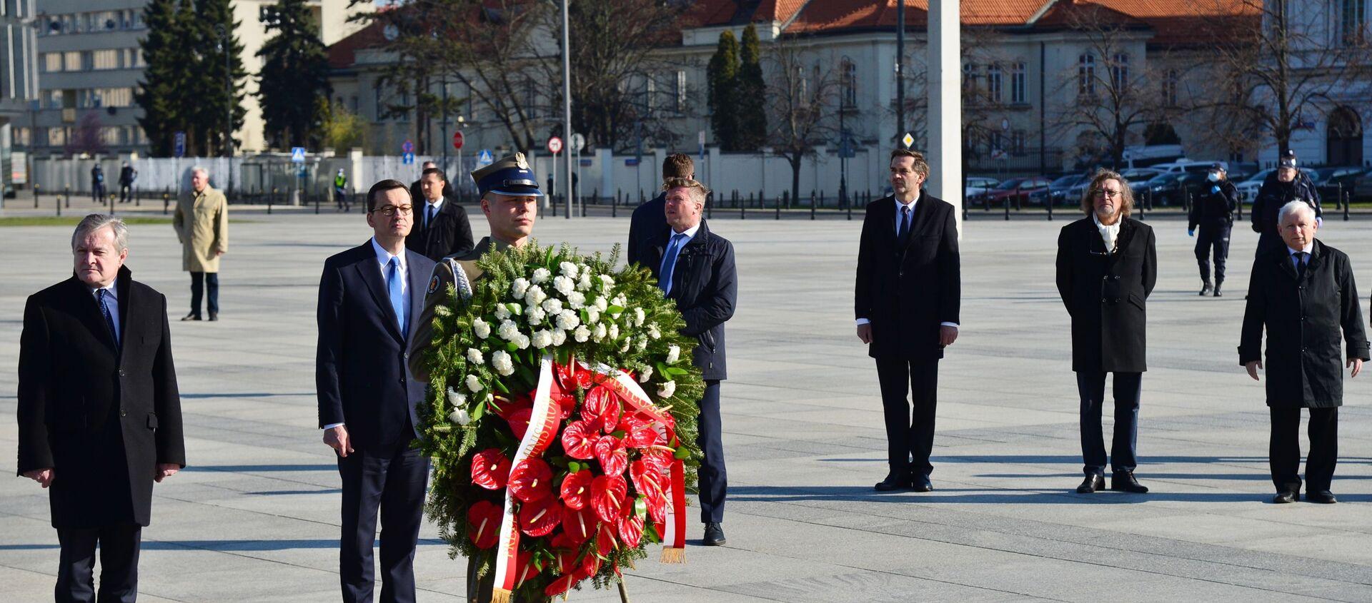 Obchody 10. rocznicy katastrofy pod Smoleńskiem - Sputnik Polska, 1920, 06.03.2021