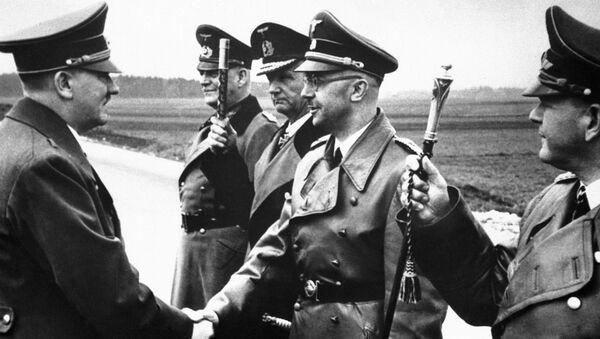 Adolf Hitler i Heinrich Himmler, 1944 rok - Sputnik Polska