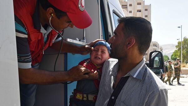Pomoc medyczna w Syrii - Sputnik Polska